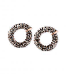 Metal Twist Huggie Earrings