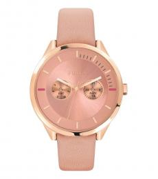 Furla Pink Modish Edgy Watch