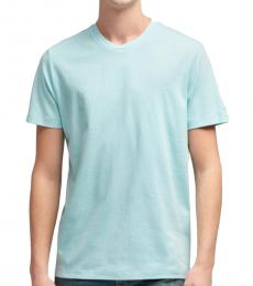 Aqua Back Seam T-Shirt