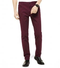 Michael Kors Cordovan Parker Slim-Fit Pants