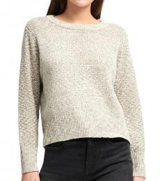 Off White Dolman Sleeve Sweater