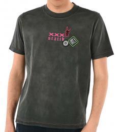 Diesel Dark Grey Reversible Minoru T-Shirt