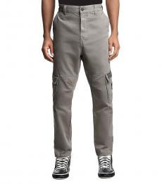True Religion Gray/Charcoal Marco Cargo Pants