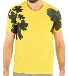 Yellow Floral Oversized T-Shirt