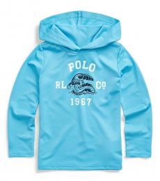Ralph Lauren Little Boys Neptune Beach Hooded T-Shirt