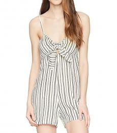 Billabong White Twist and Jump Romper