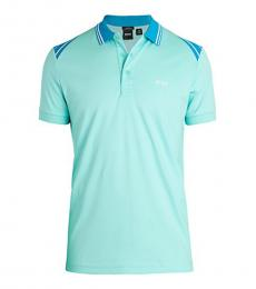 Aqua Paule Slim-Fit Logo Polo