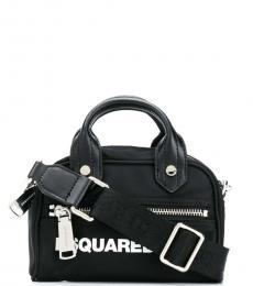 Dsquared2 Black Sporty Mini Satchel