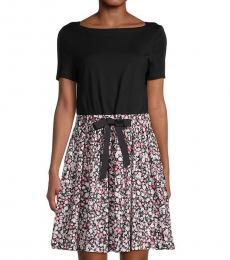 Kate Spade Black Wildflower Dress