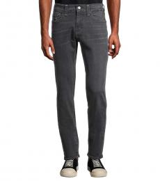 Dark Blue Rocco Relaxed-Fit Skinny Jeans