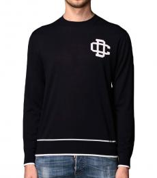 Dsquared2 Dark Blue Front Logo Sweater
