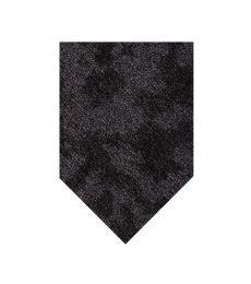 Calvin Klein Black Camouflage Tie