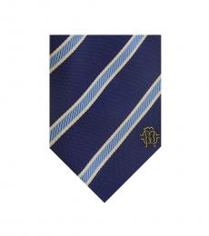 Royal Blue Regimental Stripe Tie