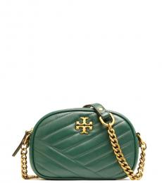 Malachite Kira Chevron Mini Crossbody