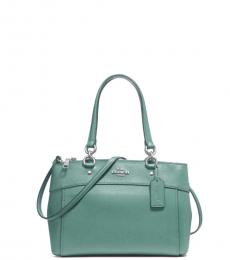Aquamarine Brooke Small Satchel