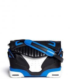 Alexander Wang Black White Sneaker Large Shoulder Bag
