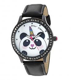 Black Unicorn Panda Watch