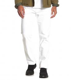 White Ricky Relaxed Fit Jeans
