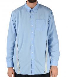 Light Blue Embroidery Shirt