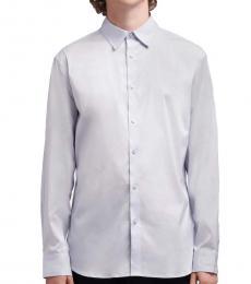 French Blue SaT-Shirtn Button-Up Shirt