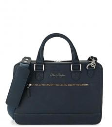 Robert Graham Navy Buster Large Briefcase Bag