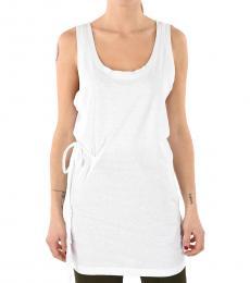 Dsquared2 White Cotton Mini Dress