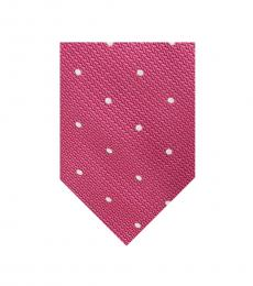 Ted Baker Pink Textured Dot Tie