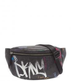 Black Tilly Logo Belt Bag