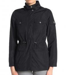 Vince Camuto Black Cinched Waist Jacket