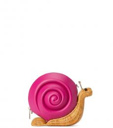 Kate Spade Pink Enchanted Forest Snail Small Crossbody