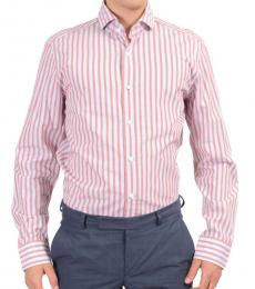 Pink Striped Dress Shirt