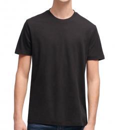 Black Back Seam T-Shirt