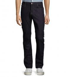 7 For All Mankind Metrodark Slimmy Straight-Leg Jeans