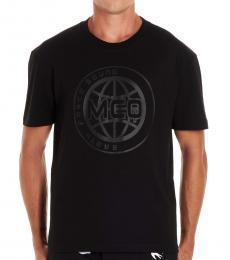 McQ Alexander McQueen Black Graphic Logo T-Shirt