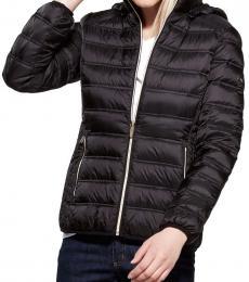 Michael Kors Black Mulberry Packable Short Jacket