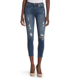 Blue Ankle Gwenevere Skinny Jeans
