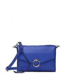 Rebecca Minkoff Bright Blue Jean MAC Convertible Small Crossbody