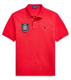 Ralph Lauren Boys Red Lunar New Year Polo
