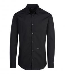 Dsquared2 Black Logo Solid Shirt