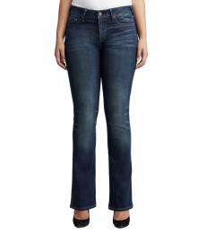 Dark Blue Becca Mid Rise Perfect Jeans