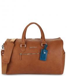 Robert Graham Cognac Blanchard Lareg Duffle Bag