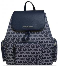 Navy Abbey Cargo Large Backpack