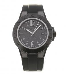 Bulgari Black Diagono Automatic Watch