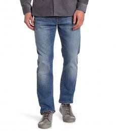 Lucky Brand Blue Athletic Slim Jeans