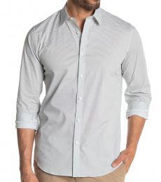 White Irving Mast Sport Shirt