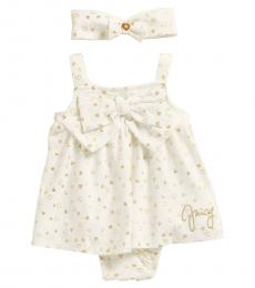 Juicy Couture 2 Piece Dress/Headband Set (Baby Girls)