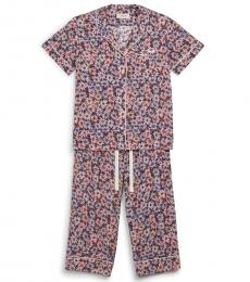 Coach Pink Multicolor Pajama Set