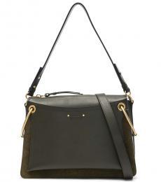 Chloe Black Roy Grande Large Shoulder Bag