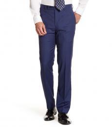 Calvin Klein Royal Blue Wool Suit Separates Pants