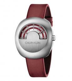 Calvin Klein Red Glimpse Watch